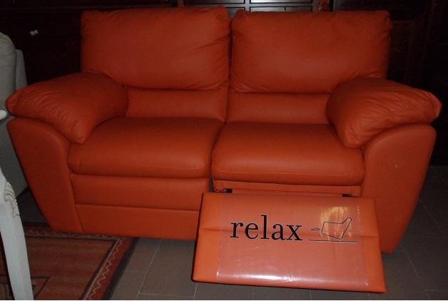 Divano Pelle Arancione : Divano in pelle arancio newelectronics eu